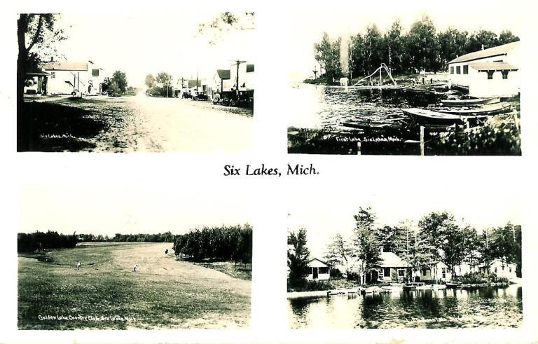 4 scenes of Six Lakes